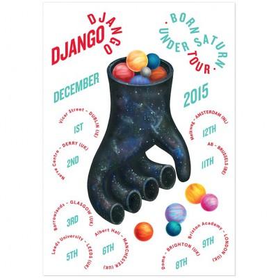 DJANGO DJANGO – Tour Poster
